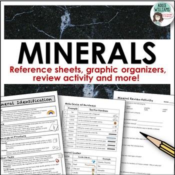Minerals - Activities and Organizers
