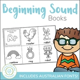 Beginning Sound Alphabet Books - Print, Cut, Color and Staple
