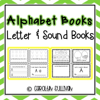 Mini Alphabet Books- Letters and Sounds