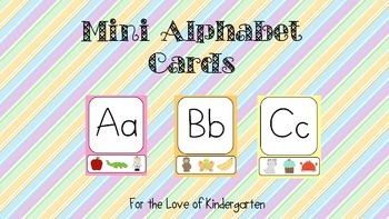 Mini Alphabet Cards