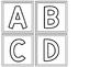 {FREEBIE} Mini Alphabet Play Dough Mats
