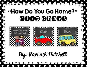 """Mini Black & White Polka Dots and Chalkboard """"How Do You G"""