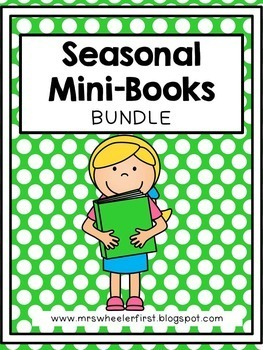 First Grade Mini Books BUNDLE