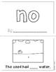 "Mini-Book: Sight Word ""no"""