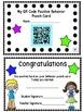 QR Codes Positive Behavior Punch Cards