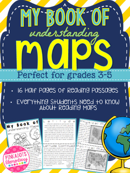 Mini Book of Understand Maps! A Student Friendly Map Skill