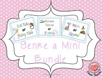 Mini Bundle: Myth or Legend, Tall Tale or Fairy Tale, Scie