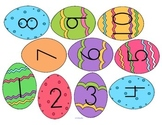 Easter Egg Numbers to 10 - FREE