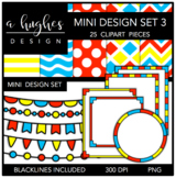 Mini Design Set 3 {Graphics for Commercial Use}