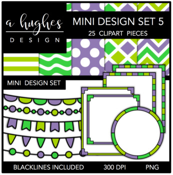 Mini Design Set 5 {Graphics for Commercial Use}