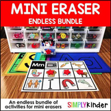 Mini Eraser Activities - Endless Bundle