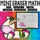 Mini Eraser Math Endless Bundle (Add, Subtract, Count, Com