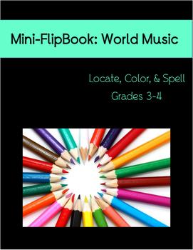 Mini-FlipBook: World Music Grades 3-4