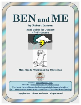 Mini-Guide for Juniors: Ben and Me Workbook