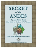Mini-Guide for Juniors: Secret of the Andes Workbook