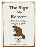 Mini-Guide for Juniors: The Sign of the Beaver