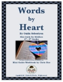 Mini-Guide for Middlers: Words by Heart Workbook