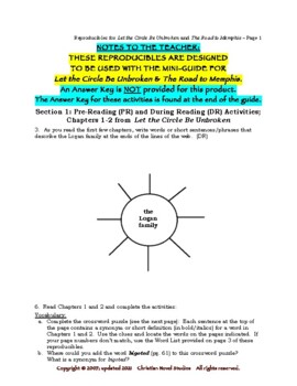 Mini-Guide for Seniors: Let the Circle Be Unbroken and RtM