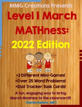 Mini March MATHness-Level I: March Madness Math Games & Ac