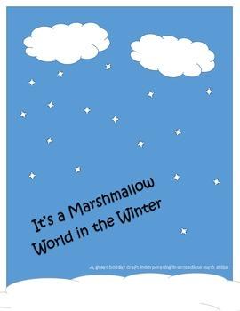 Mini Marshmallow Holiday Math Activity