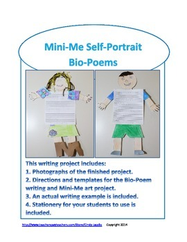 Mini-Me Self-Portrait Bio-Poems