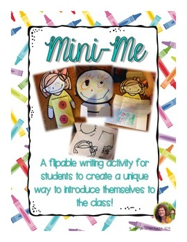 Mini Me: a Flipable Writing Activity for New Student Intro