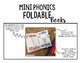 Mini Phonics Foldable Books BLENDS