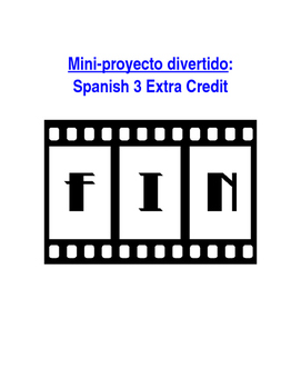Mini-Project Sp3 - Extra Credit: Re-Create Spanish Film or