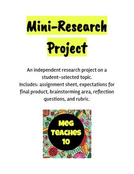 Mini-Research Project