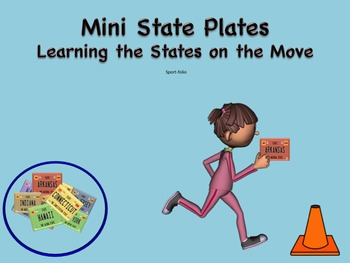 Mini State Plates Physical Activity - 3rd - 5th