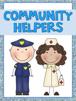 Mini Word Wall - Community Helpers
