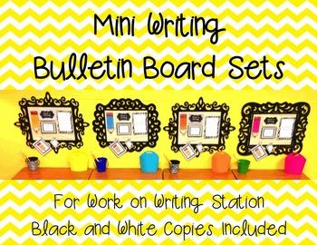 Mini Writing Center Student Bulletin Boards