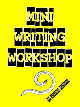 Mini Writing Workshop by Dianne Watson