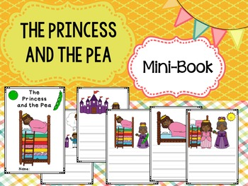 Mini-book : The Princess and the Pea - African American :