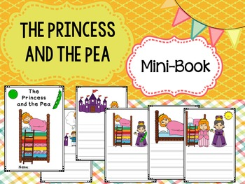 Mini-book : The Princess and the Pea : Primary Lines
