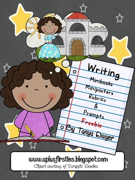 Mini-book Writing & Rubrics Freebie