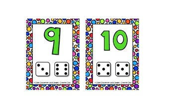 Mini cartes de nombres