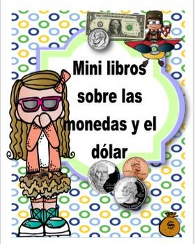 Mini libros sobre las monedas y el dólar
