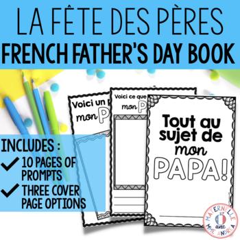 Fête des pères - Mini livre à remplir (FRENCH Father's Day