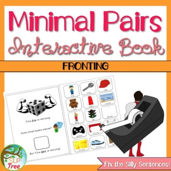 Minimal Pairs Interactive Book: Fronting