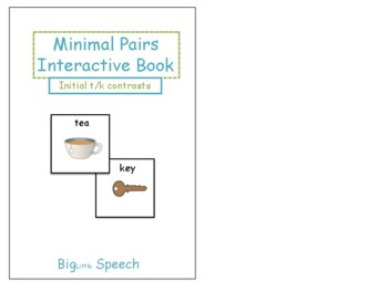 Minimal Pairs Interactive Book: Initial t/k Contrasts for