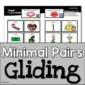 Minimal Pairs & More: Gliding