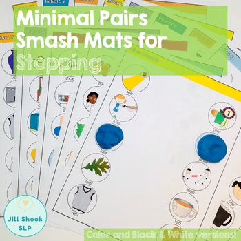 Minimal Pairs Smash Mats for Articulation and Phonology- /