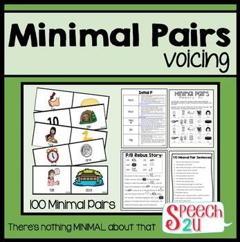 Minimal Pairs Voicing
