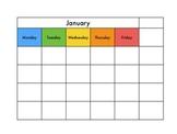 FREE Minimalist Calendar