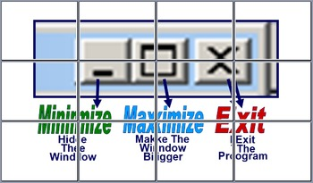 Minimize A Window, Maximize A Window, & Exit