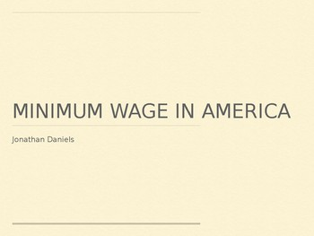 Minimum Wage Debate!