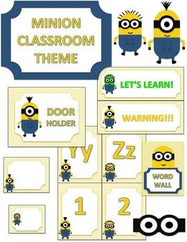 Minion Classroom Theme