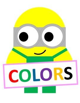 Minion Color Posters