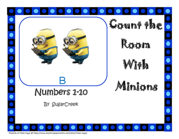 Minion Count the room!